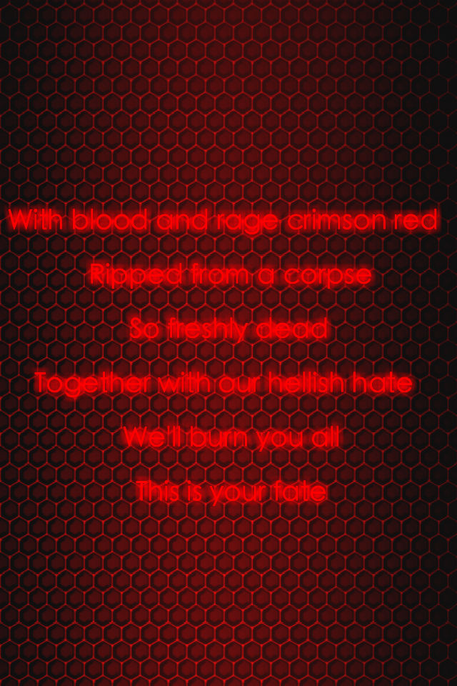 Red Lantern Corps Oath by KalEl7 640x960