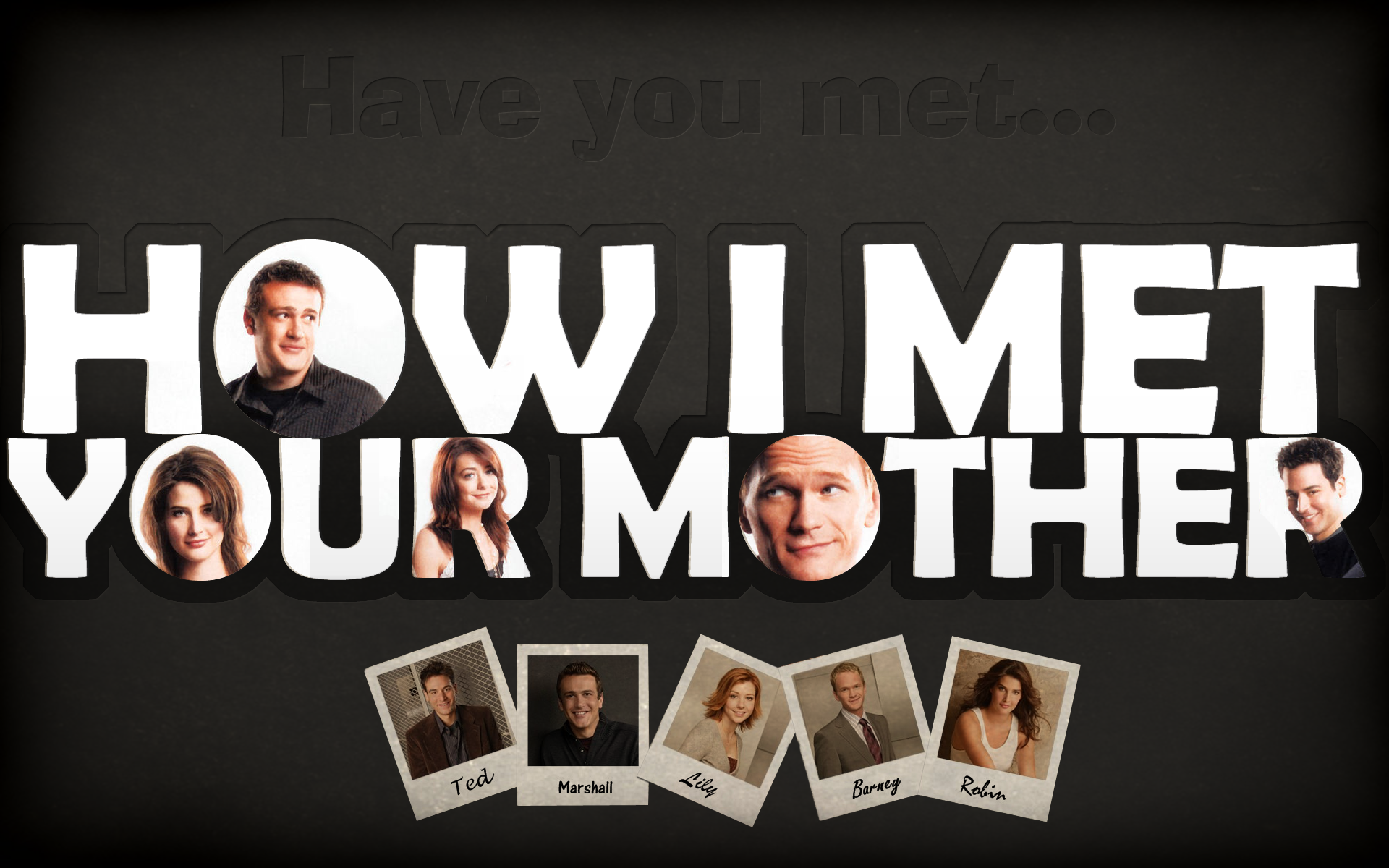 Free Download How I Met Your Mother Wallpaper Hd Wallpaper Movies