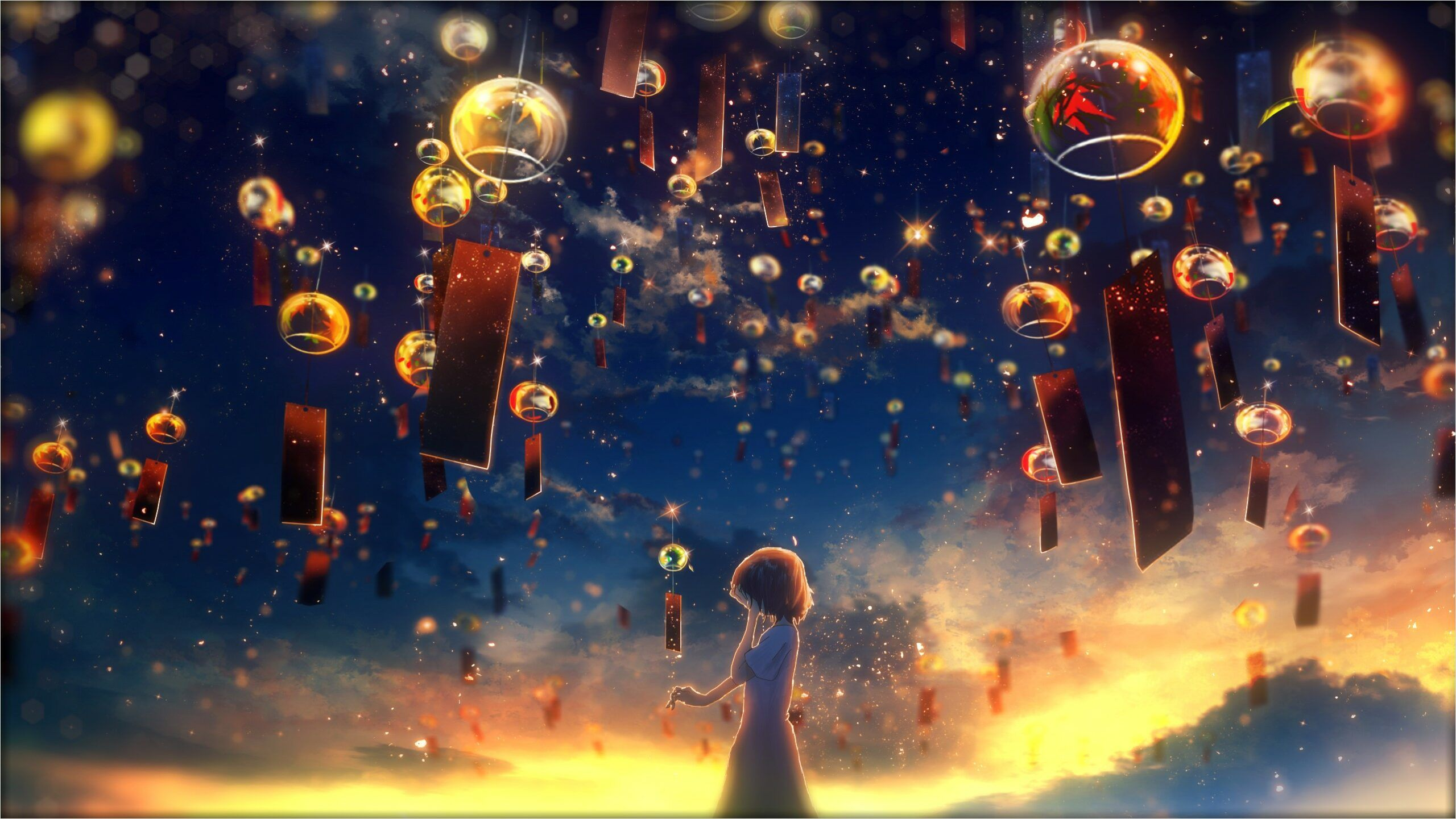 4k Animated Wallpaper Dream in 2020 Hd anime wallpapers Sky 2560x1441