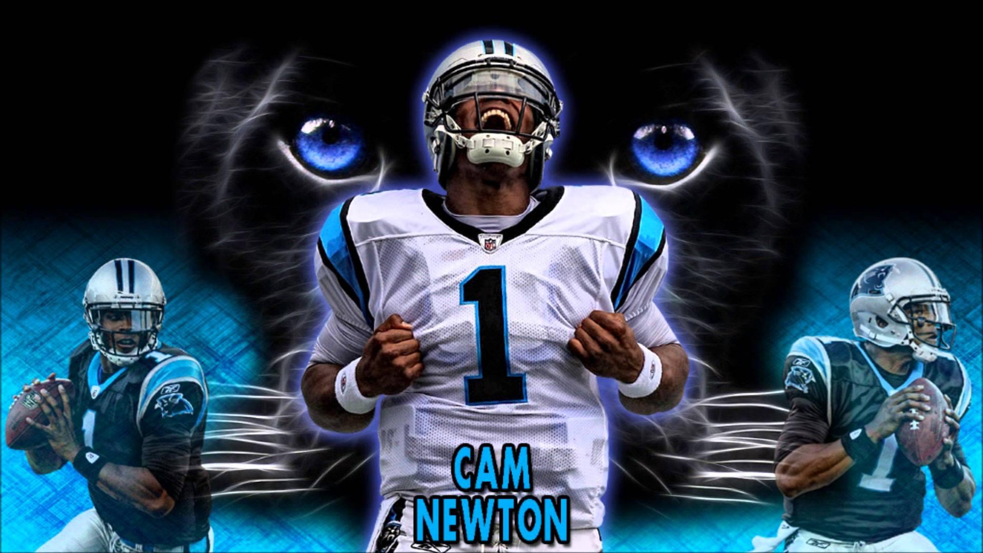 FREE NFL Cam Newton Wallpaper by youtubecom 1920x1080