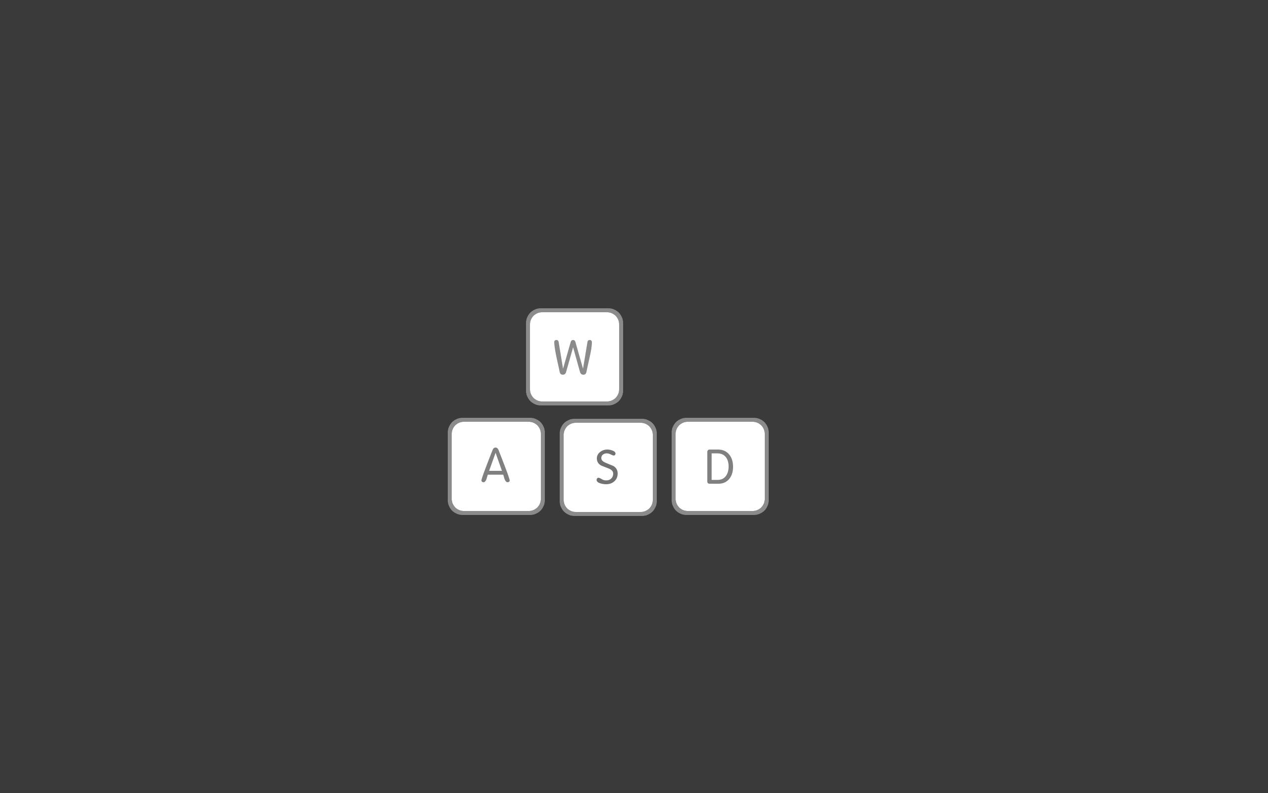 Video games minimalistic mac gray keyboards gaming pc games wallpaper 2560x1600