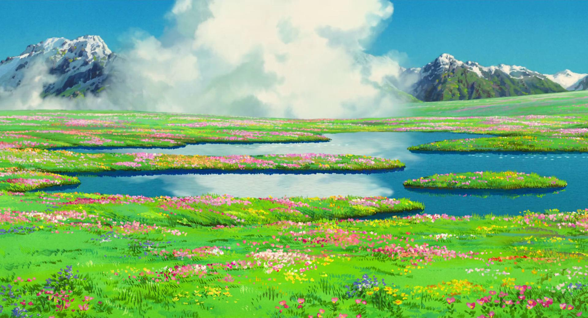 Wallpaper Wednesday 3 Another 10 Ghibli wallpapers 1920x1038