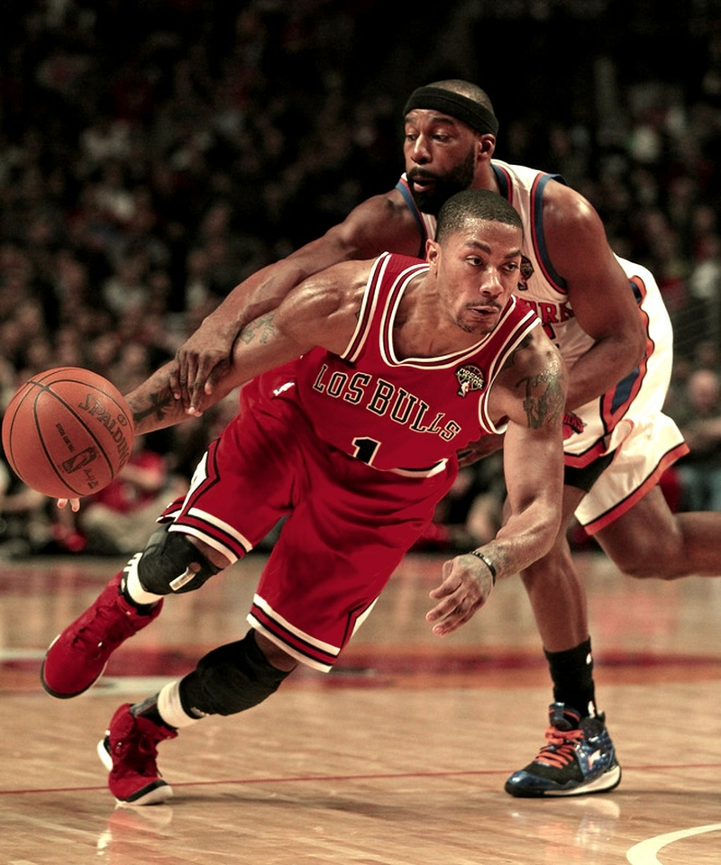 headbands derrick rose athletes chicago bulls baron davi Wallpaper 800x960