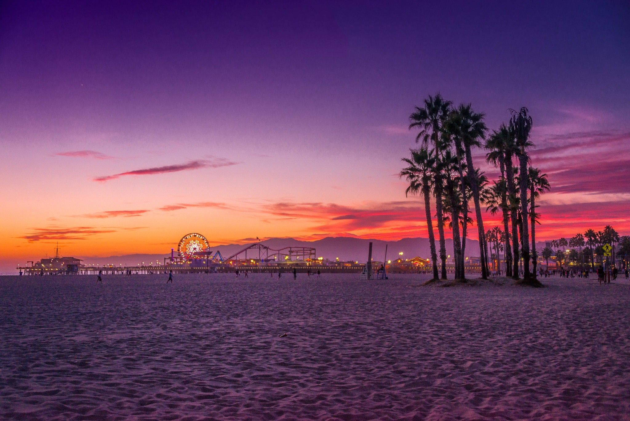 60 Venice Beach Sunset Wallpapers   Download at WallpaperBro 2048x1367