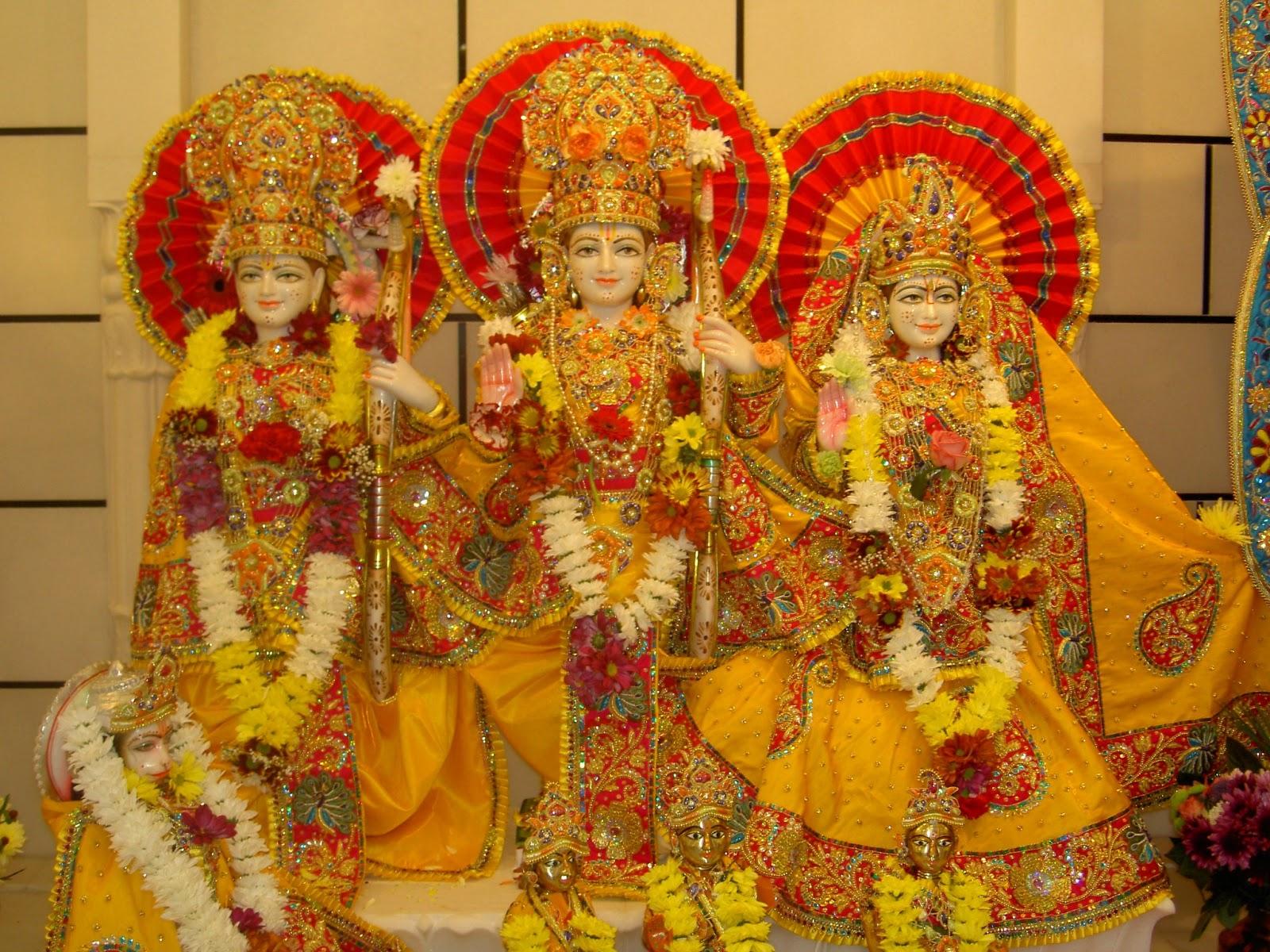 Download Wallpaper HD load shri ramgod ram sitaram lakhan 1600x1200