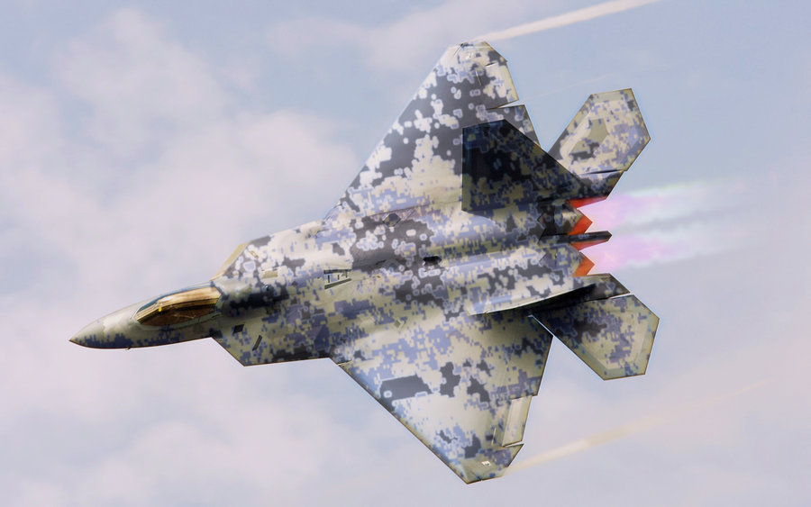 Cloud HD Wallpaper F22 Aircraft 900x563