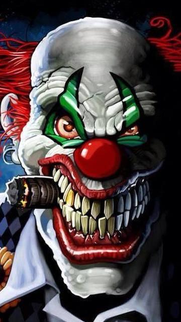 Scary clown wallpaper screensavers free wallpapersafari - Circus joker wallpaper ...