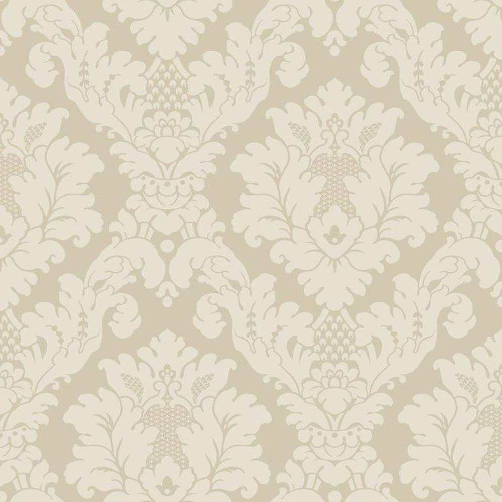Arthouse Opera Da Vinci Damask Textured Wallpaper Cream 405101 at 1000x1000