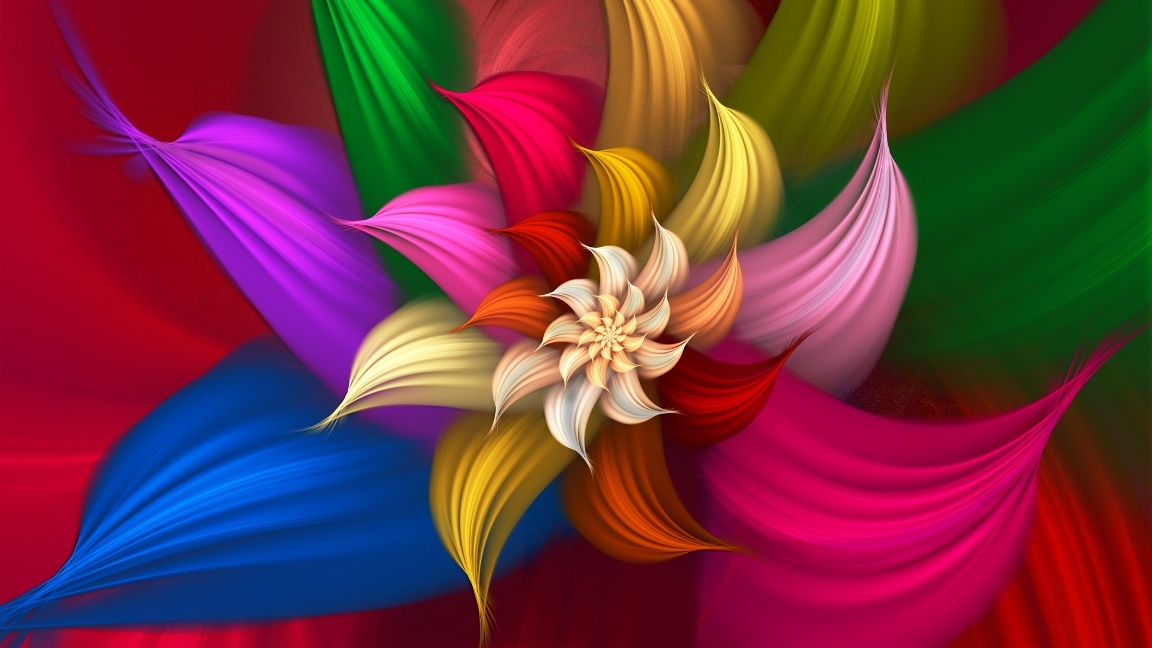 3d desktop flower wallpapers 3d flower desktop wallpapers 3d flower 1152x648