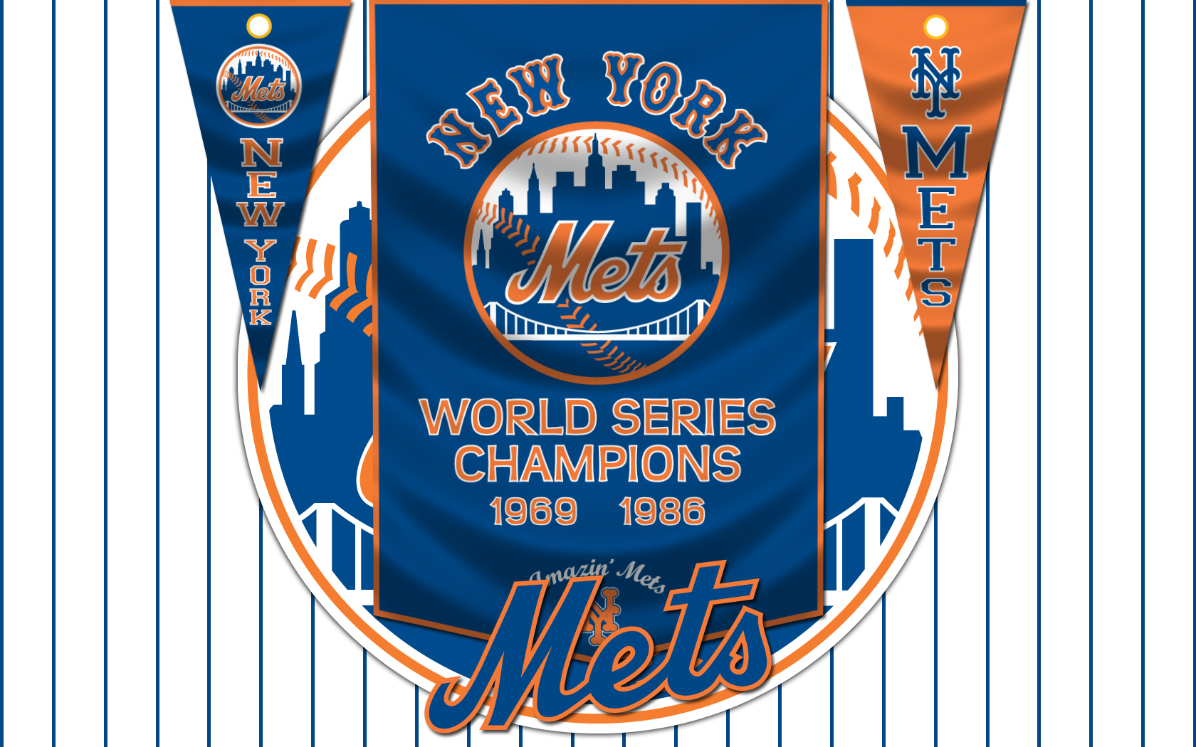New York Mets wallpapers New York Mets background 1680x1050