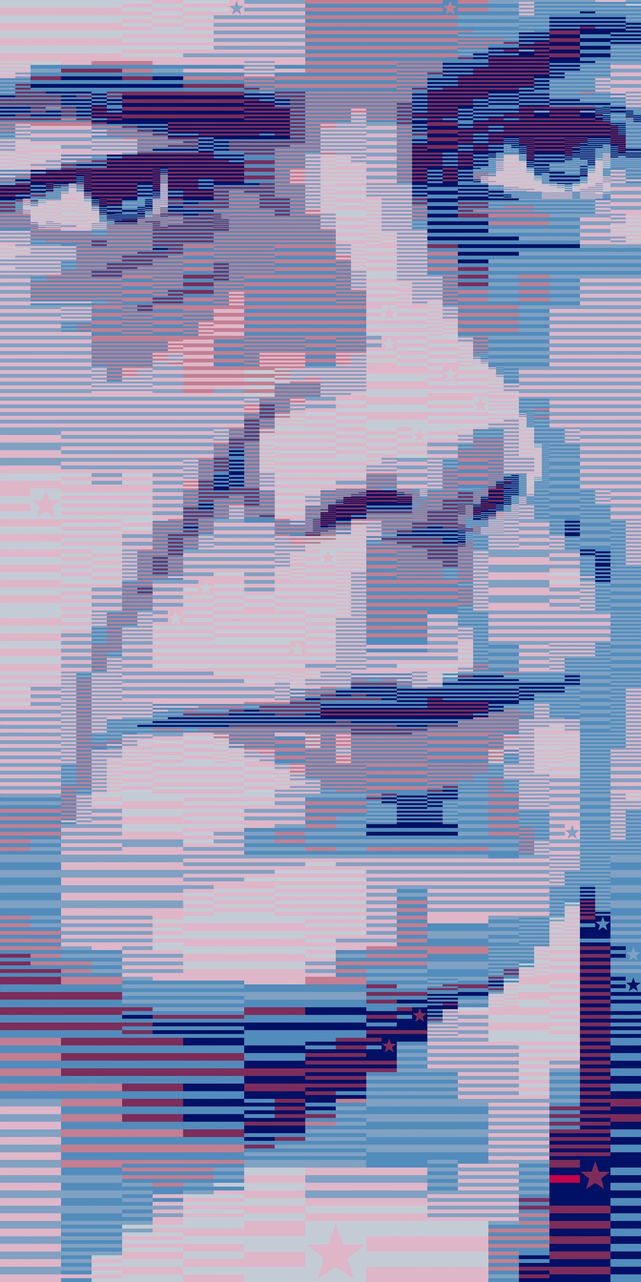 Pete Buttigieg 2020A series of mosaic political artworks created 1300x2600