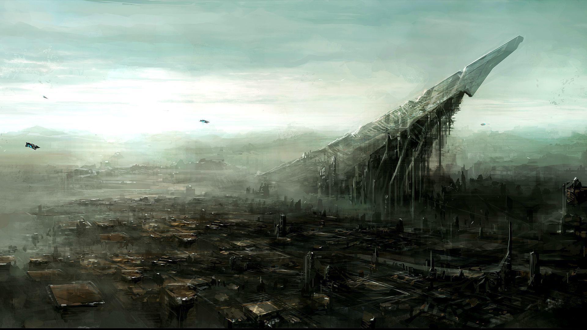 Sci fi landscape wallpaper   1207228 1920x1080