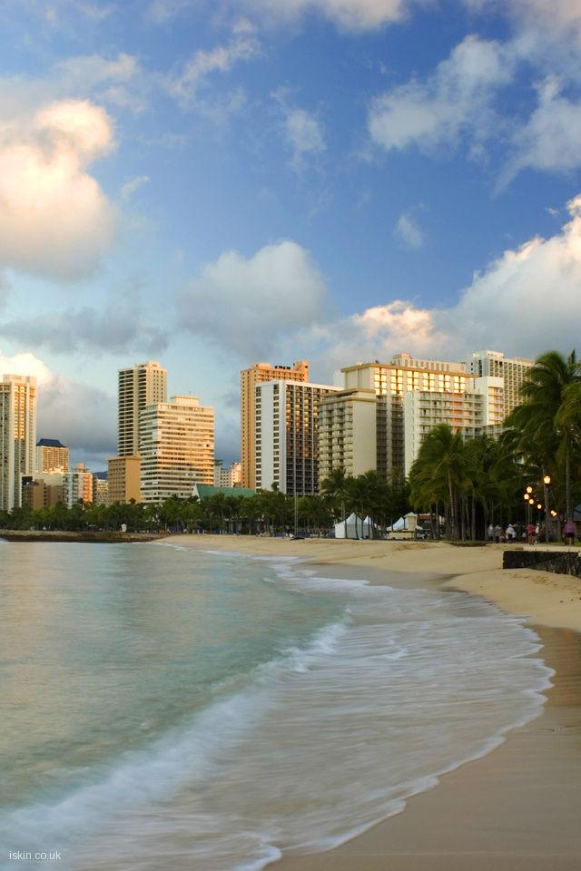 42] Waikiki Desktop Wallpaper on WallpaperSafari 640x960