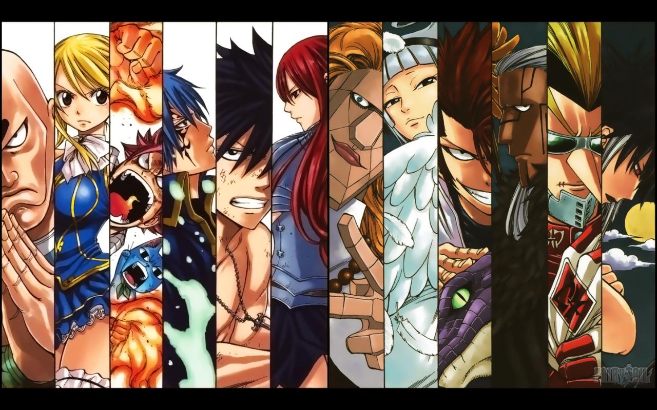 Fairy Tail - Fandoms Wallpaper (32091959) - Fanpop