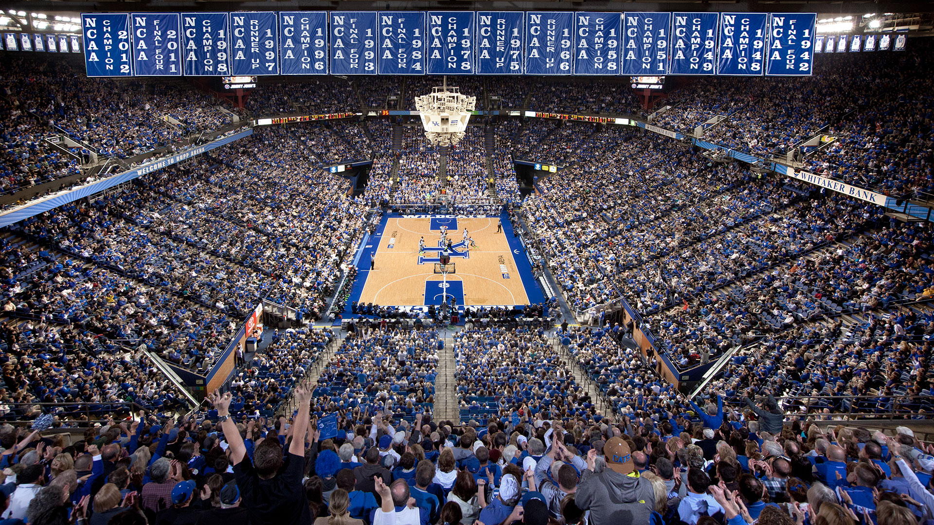 Kentucky basketball fan This stunning background showcases every NCAA 1920x1080