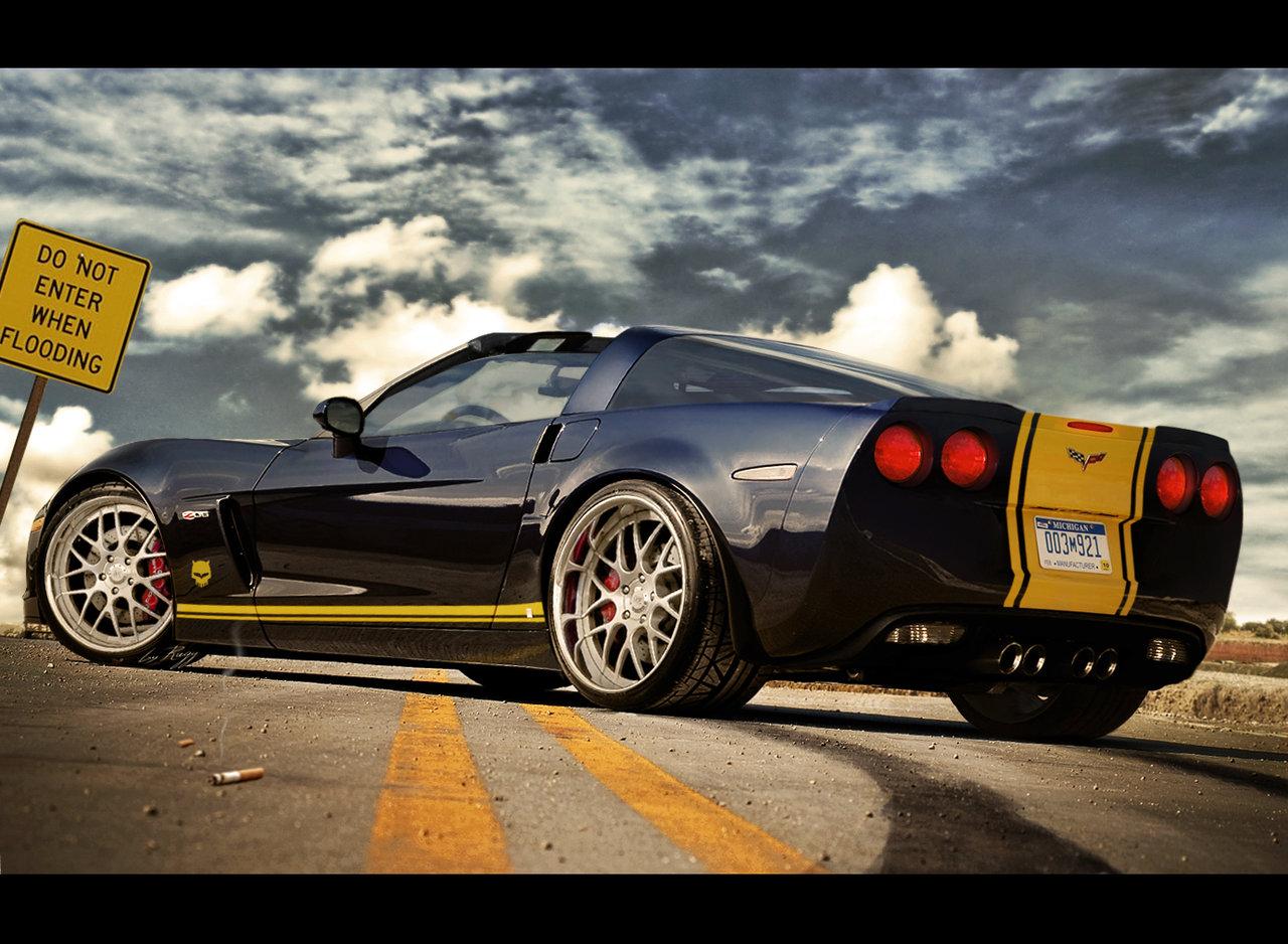 Chevy Corvette zr1 targa by Rugy2000 1280x938