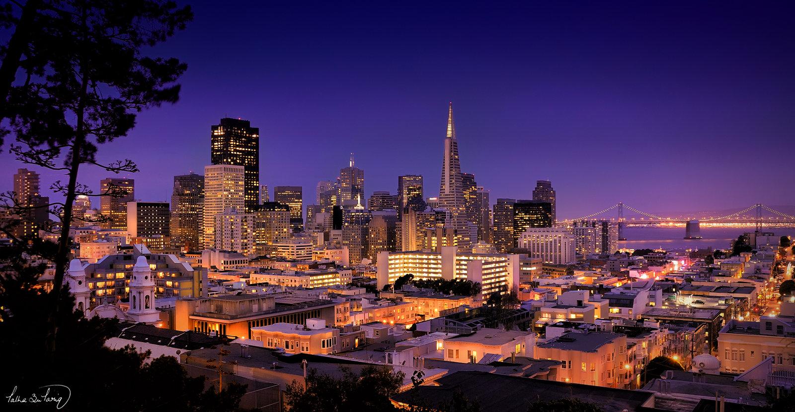 San Francisco Downtown by tt83x 1600x830