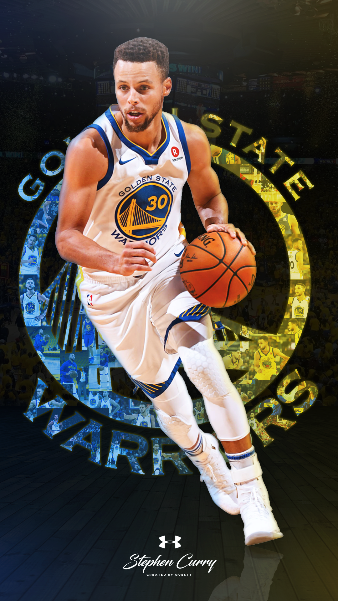Free download Stephen Curry Wallpaper 1080p Golden State Warriors Wallpaper 1080x1920 for your ...