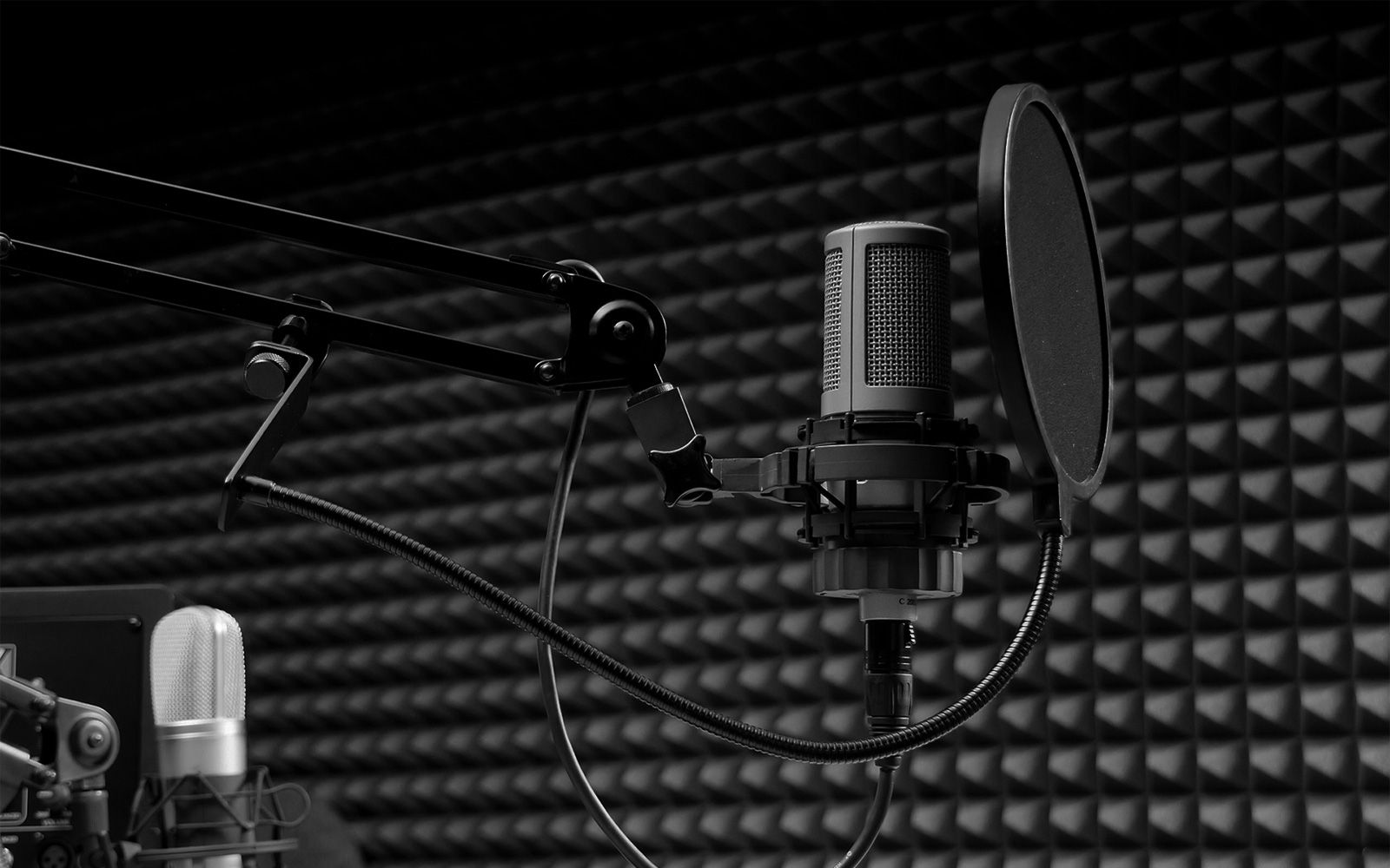 Wallpapers For Recording Studio Wallpaper Black And White 1600x1000