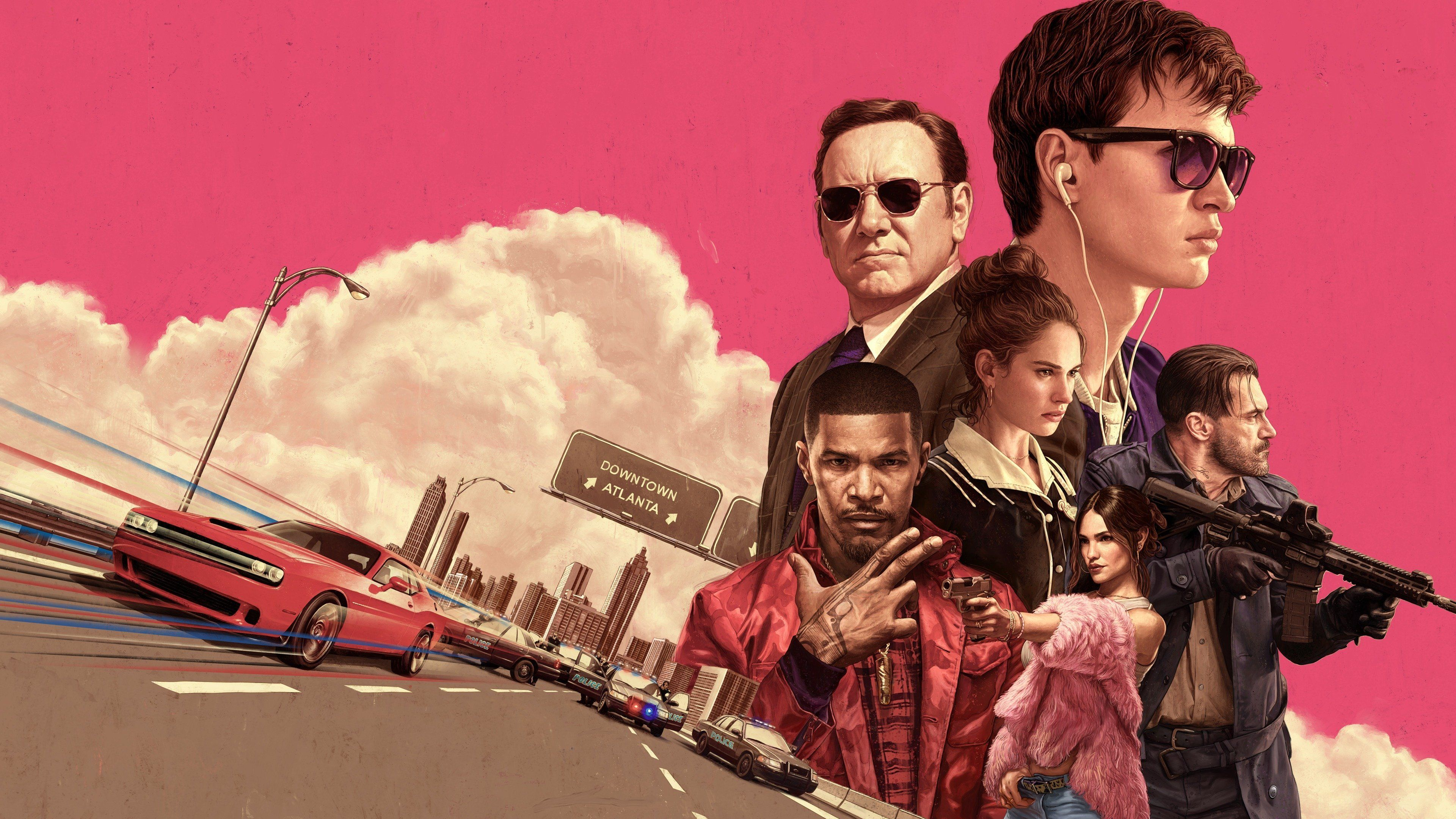 Baby Driver Wallpapers   Top Baby Driver Backgrounds 3840x2160