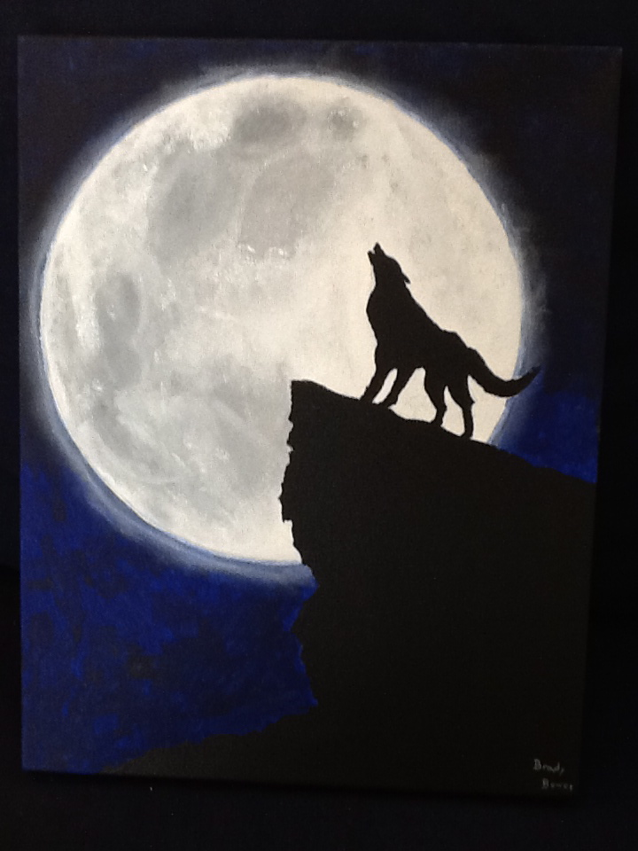 Howling Moon By SPARTAN WOLF 720x960