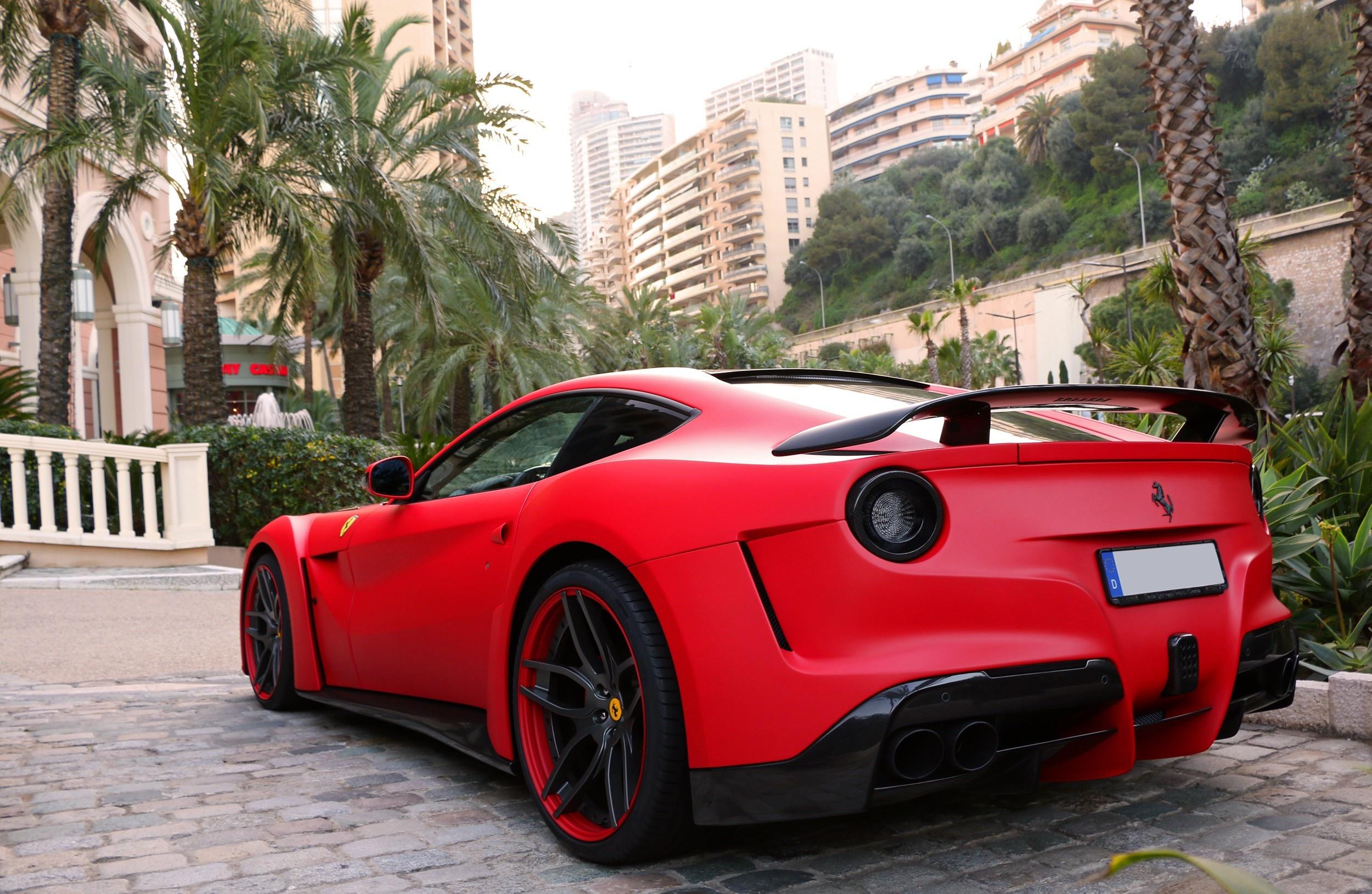 Ferrari F12 Berlinetta Supercar Novitec Rosso N largo   Stock 2500x1630