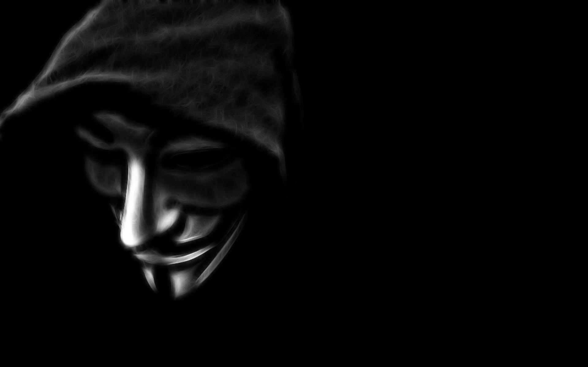 Fuentes de Informacin   Wallapapers HD Anonymous 1920x1200