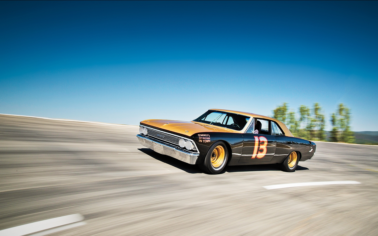 1966 Chevrolet Chevelle Wallpapers Backgrounds 1600x1000