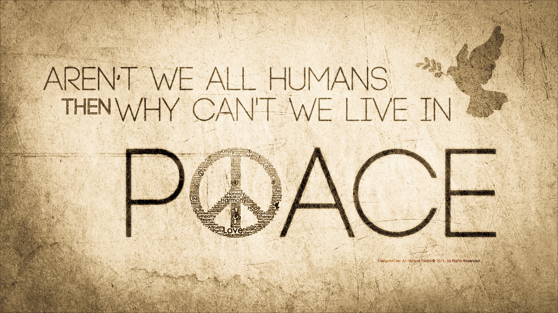 Pics Photos   Peace Wallpaper 1920x1080