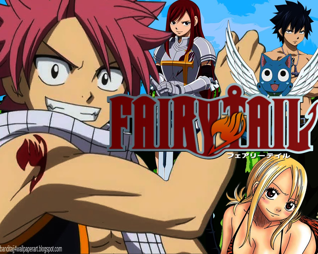 HDMOU TOP 8 MOST POPULAR FAIRY TAIL WALLPAPERS IN HD 1280x1024