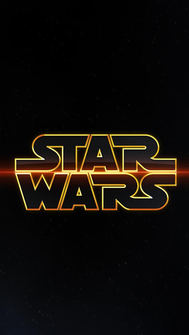 Star Wars Logo iPhone 5s Wallpaper Download iPhone Wallpapers iPad 640x1136