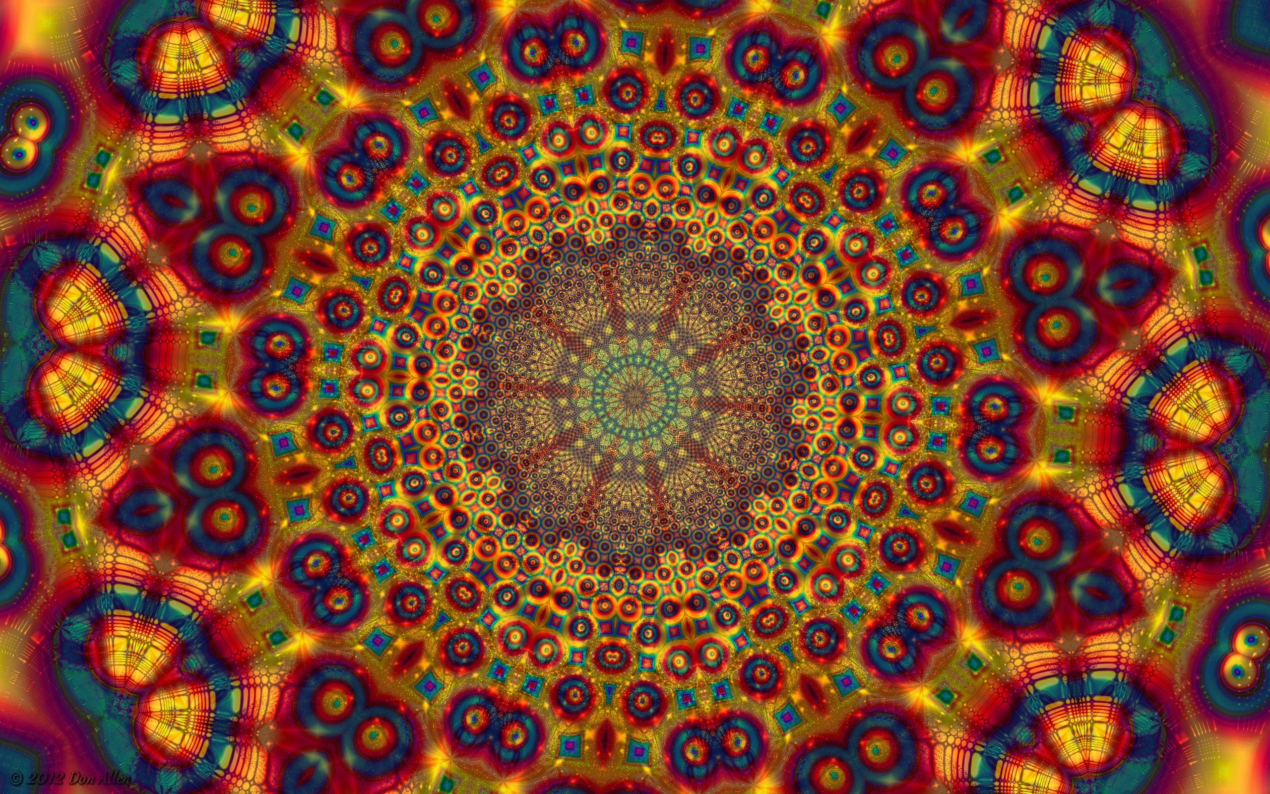 800x600 desk fractal mandala pc top