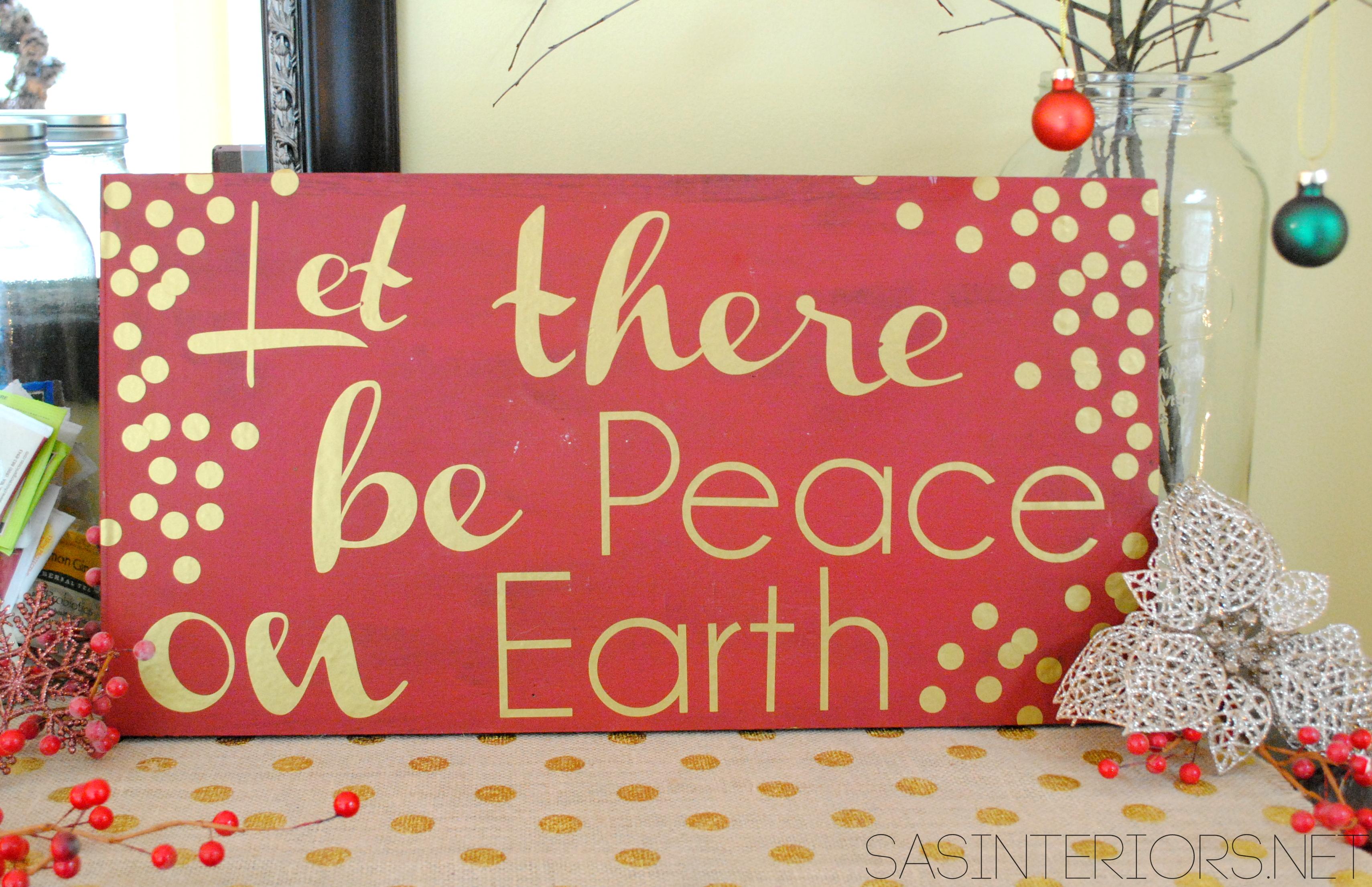 1280x1024 peace on earth christmas