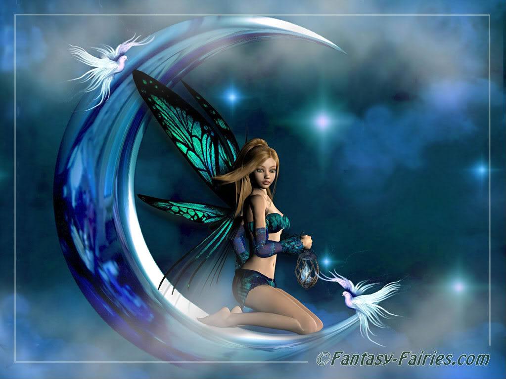 Moon Fairy Wallpaper fairies 635013jpg 1023x767