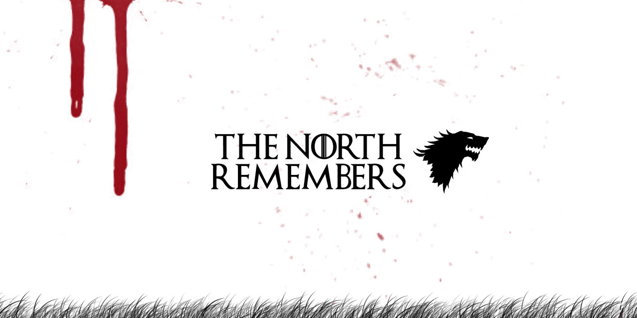 The North Remembers Wallpaper 1280x640