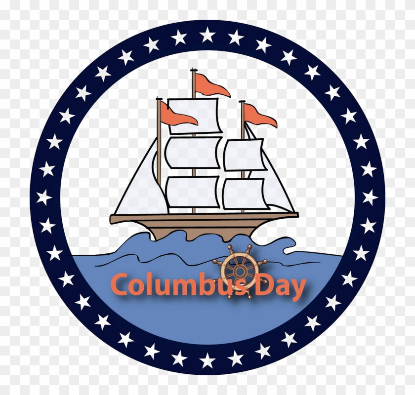 Happy Columbus Day 2019 Wallpapers Stickers Clipart PNG Images 840x800