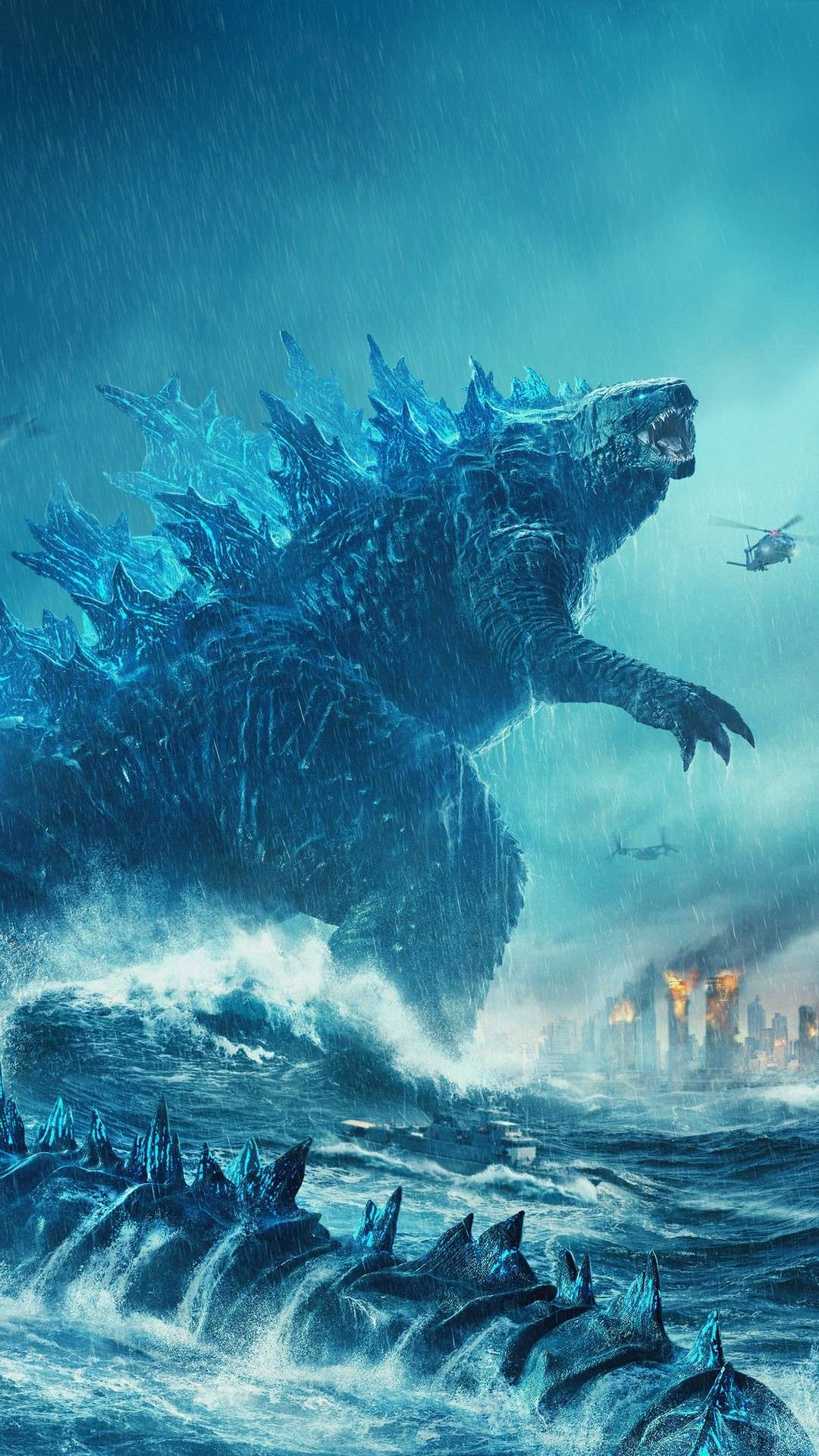 Godzilla Wallpaper Iphone Xr 1080x1920