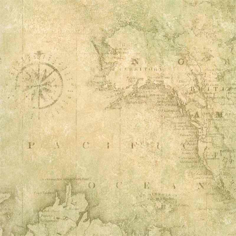 Map wallpaper roll wallpapersafari tan world map wallpaper coastal nautical wallpaper 800x800 gumiabroncs Image collections
