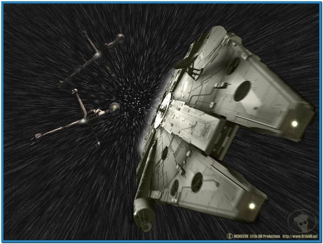 Star wars screensaver hyperspace   Download 1047x791