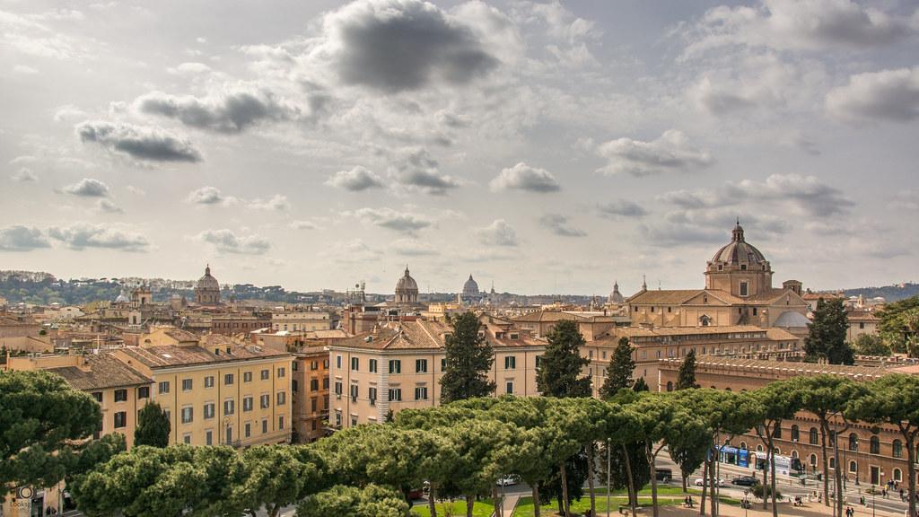 Rome Skyline   Italy 4K Wallpaper Desktop Background Flickr 1024x576