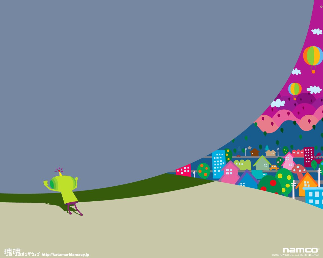Katamari Damacy Computer Wallpapers Desktop Backgrounds 1280x1024 1280x1024