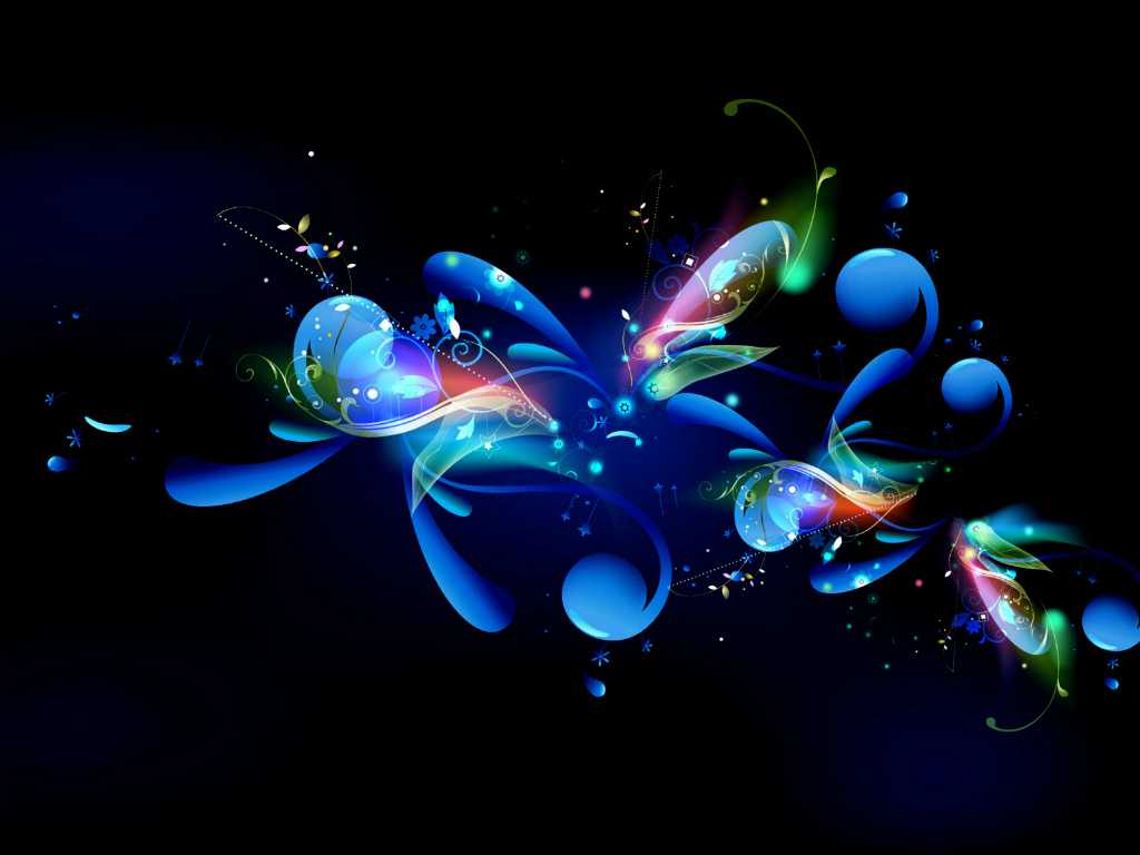 Cool Abstract background Blue   Blue Abstract Full HD desktop HD 1024x768