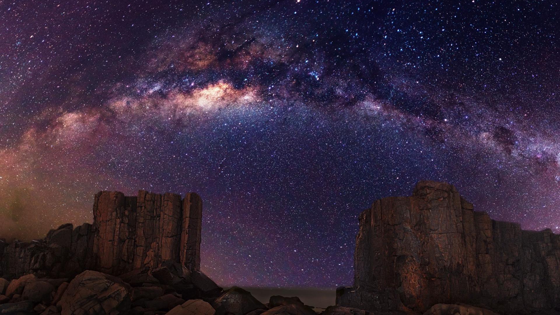 Night sky stars wallpaper 62138 1920x1080