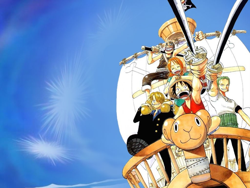 One Piece Wallpaper 5 1024x768
