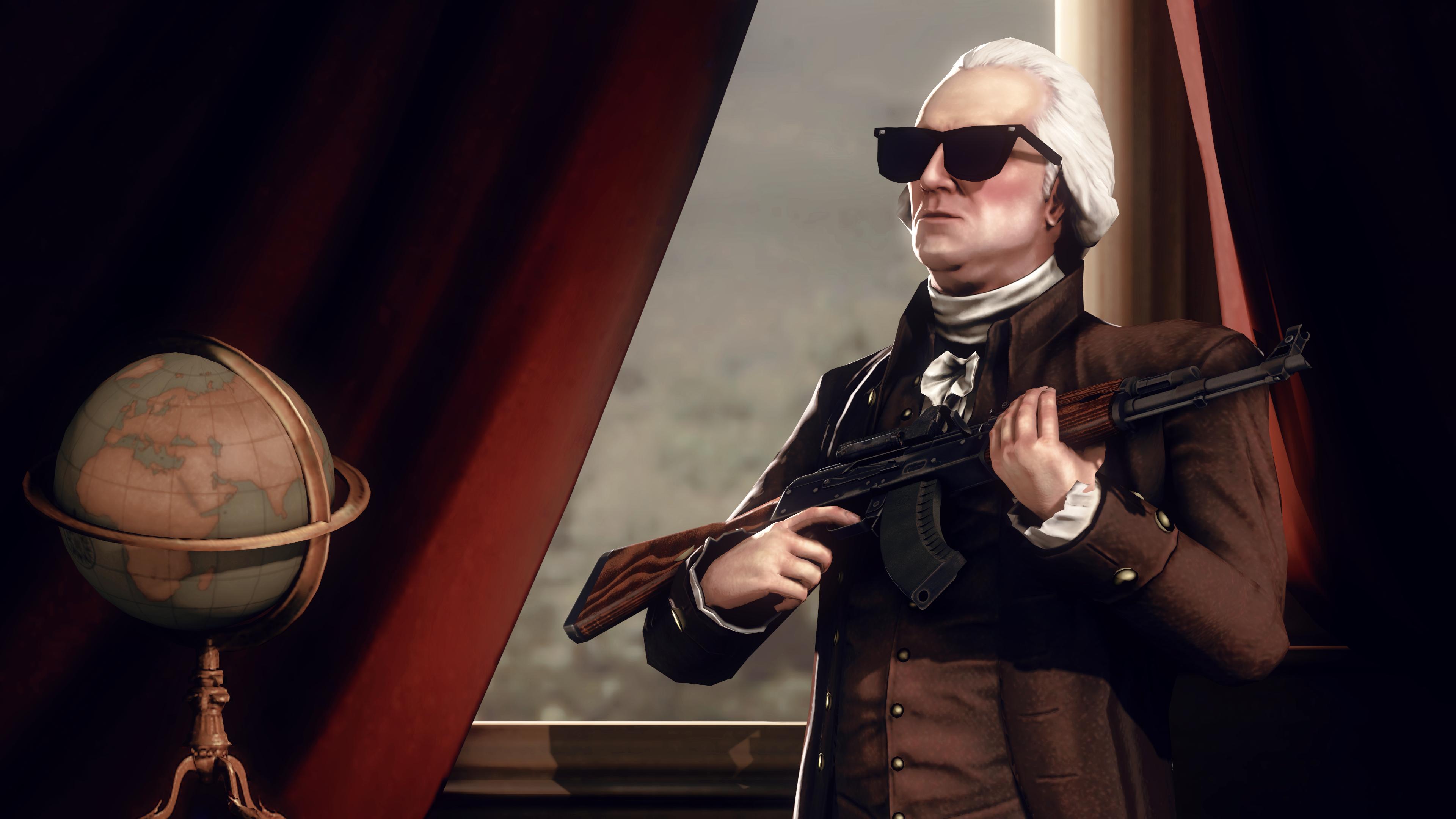 Founding Father by Robogineer on deviantART 3840x2160