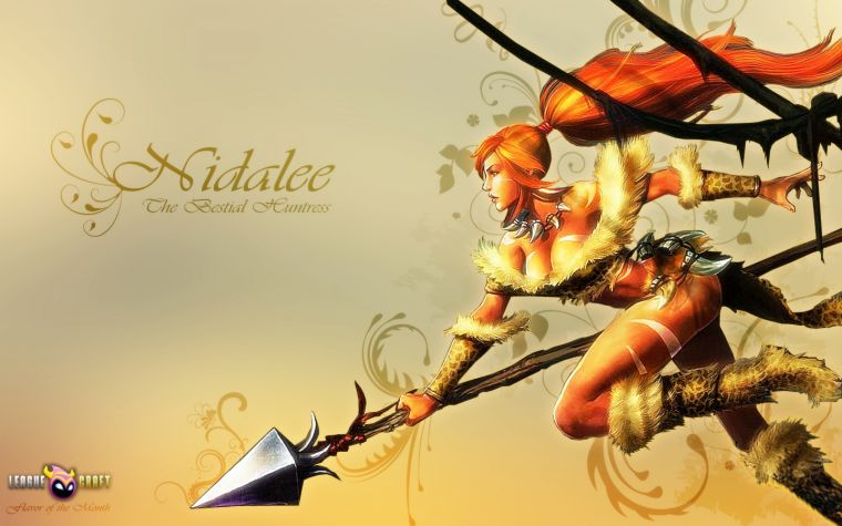 League Of Legends Wallpaper Nidaleenidalee Wallpaper Fotm Nidalee 760x475