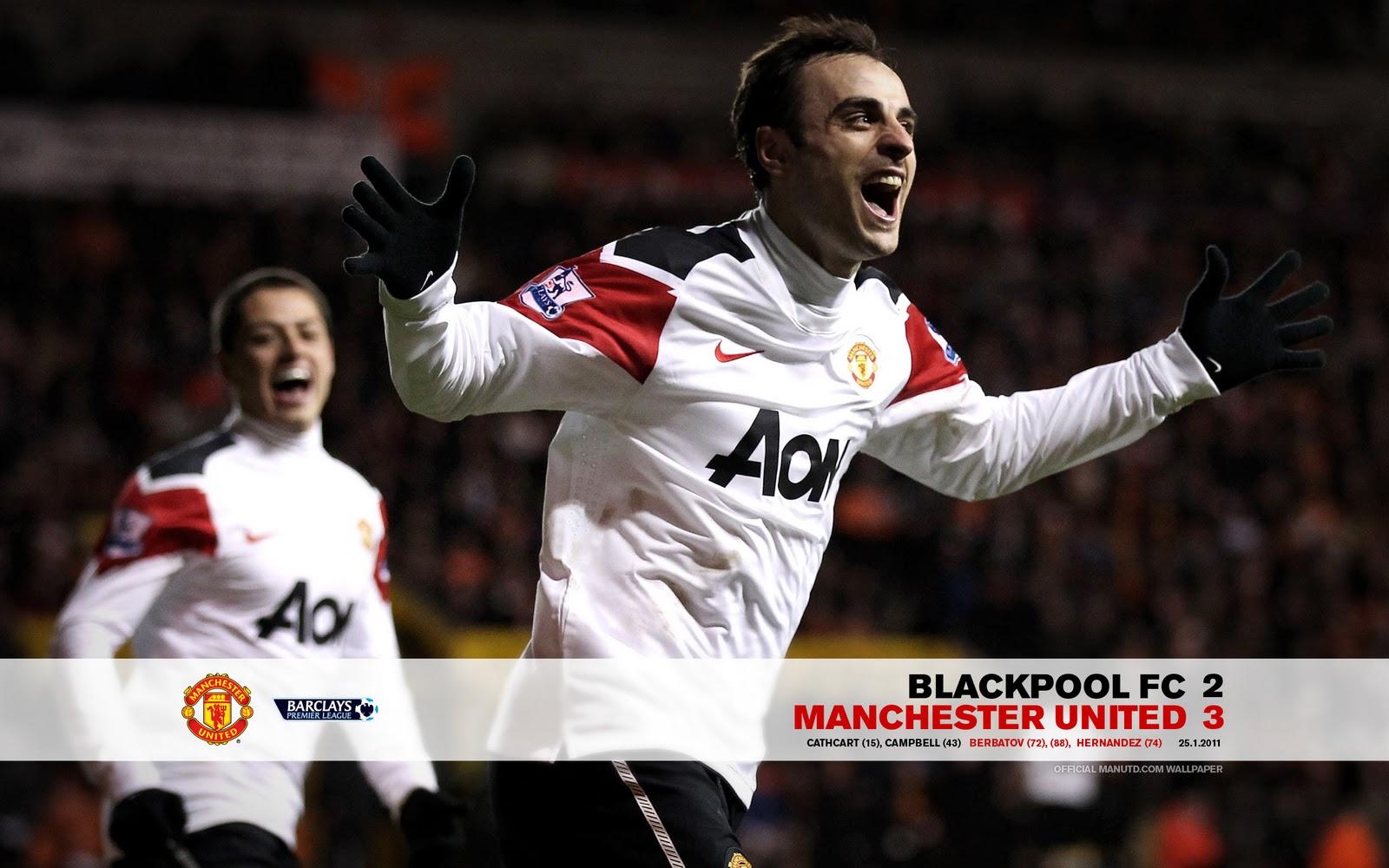 Match Wallpaper 2011 Blackpool V United Man United Malaysia No 1 1600x1000