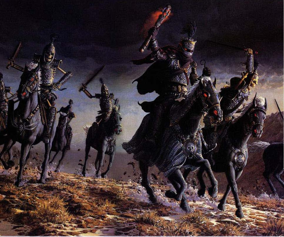 knights artwork medieval skull skeletons dark army fantasy HD 966x809