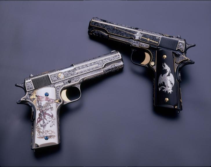 guns weapons custom m1911 45acp colt 1528x1209 wallpaper Abstract Gun 728x576