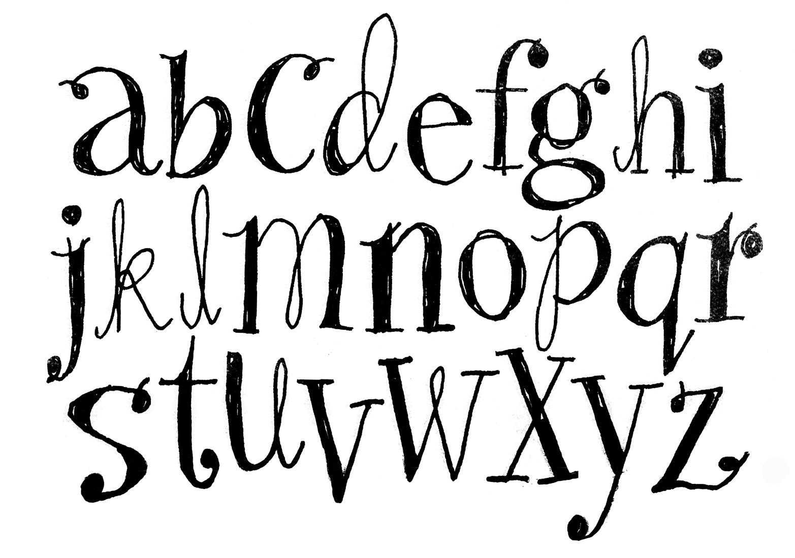 New Alphabet Wallpaper Designs 1565x1100